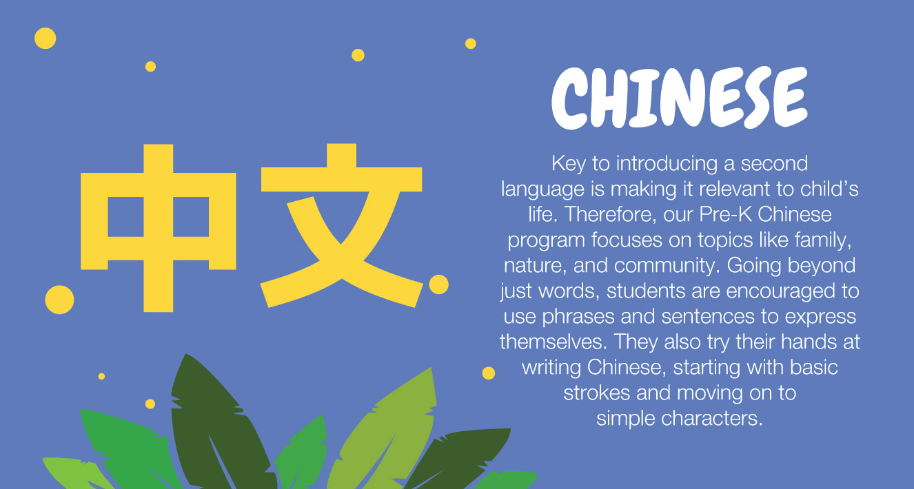 The Learning Connection Pre-k Chinese Subject